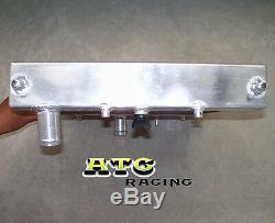 Radiateur En Aluminium À 3 Rangées 52mm Pour Tuyau Pipe Pour CIVIC Eg Ek B16 B18 32mm 1992-2000