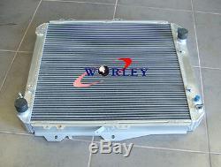 Radiateur En Aluminium À 3 Rangées De Toyota Hilux Kzn130 1kz-te 3.0 Td 1993-1996