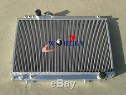 Radiateur En Aluminium À 3 Rangées Toyota Supra Mk3 Soarer Mz20 7m-gte Manuel 1986-1992