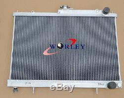 Radiateur En Aluminium Allié De 52mm Pour Nissan Skyline R33 R34 Gtr Gts-t Rb25det Manual
