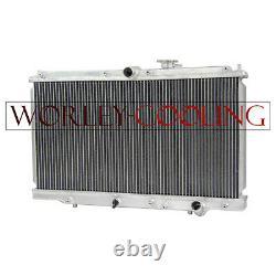 Radiateur En Aluminium Alloy Pour Honda Prelude 2.2l1997-2001 & Accord CD 1993-1997 Mt