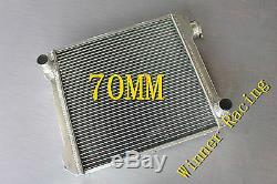 Radiateur En Aluminium Convient Austin 1800 Mark 1 1964-1975 70mm