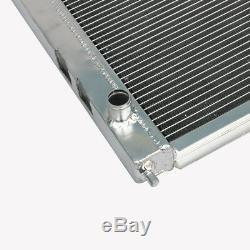 Radiateur En Aluminium Convient Rover 25 45 200 400 Mg Zr Zs 40mm