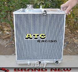 Radiateur En Aluminium De 3 Rangées 28mm Pipe Pour 92-00 Honda CIVIC Eg