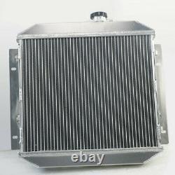 Radiateur En Aluminium En Alliage De Ligne 2 Pour Ford Escort 1968-1980 At/mt 1969 1970