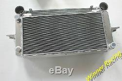 Radiateur En Aluminium Et Intercooler Fit Ford Escort / Sierra Rs500 / Rs Cosworth 2,0 M / T