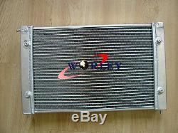 Radiateur En Aluminium Et Ventilateurs Pour Vw Corrado Scirocco Jetta Golf Gti Mk2 1.8 16v 86-92