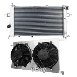 Radiateur En Aluminium + Fan Shroud Astra Ts Convient Vauxhall Mk4 Z20let Zafira Gsi Isr