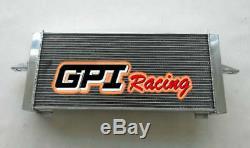 Radiateur En Aluminium + Fans Pour Ford Escort / Sierra Rs500 / Rs Cosworth 2.0 1982-1997