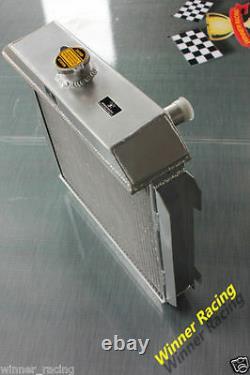 Radiateur En Aluminium Fit Ford Capri Rs / Escorte Superspeed Mk1 Essex V6 2,6 / 3l 56mm
