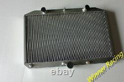 Radiateur En Aluminium Fit Jaguar Xk-e E-type 5.3l V12 Série 3 1971-1974 Automatique