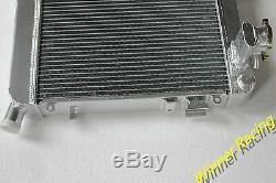 Radiateur En Aluminium Fit Opel Manta A 1,9 S 66kw / Kadett C Coupe 2.0 E Rallye 56mm