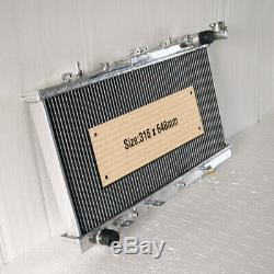 Radiateur En Aluminium Fits Nissan Pulsar N14 N15 2.0 Turbo Gtir 1991-2000