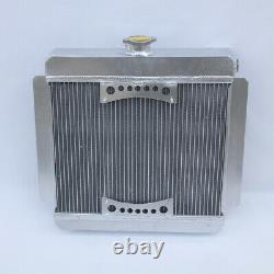 Radiateur En Aluminium H/duty 42mm Pour Ford Escort Rs2000 Mk2 2.0 Rs 1.6 Sport Pinto