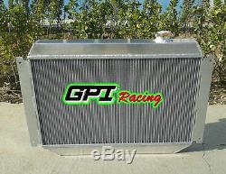 Radiateur En Aluminium Holden Torana Hq Hj Hx Hz Hk Kingswood V8 + Carénage En Alliage + Ventilateur