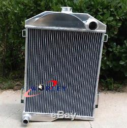Radiateur En Aluminium Pour Austin Healey 3000 1959-1967 1960 1961 1962 1963 61-63