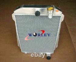 Radiateur En Aluminium Pour Chevy Hot / Street Rod 350 5.7 V8 Withtranny Cooler 1939