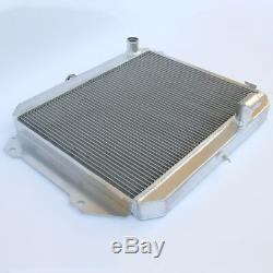 Radiateur En Aluminium Pour Daihatsu Fourtrak Rocky 2.8 Td 1987-1993 + Bouteilles En Plastique