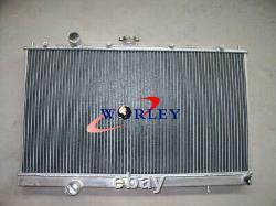 Radiateur En Aluminium Pour Mitsubishi Lancer Evo 4 5 6 Iv/v/vi 1997-2000 98 99 00 Mt