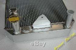 Radiateur En Aluminium Pour Morgan 4/4 1600 Avec Moteur Ford Kent Crossflow 1968-1993