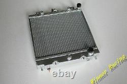 Radiateur En Aluminium Pour Nissan Pao 1989 1990 1991 Alliage À Débit Élevé 40mm A/t