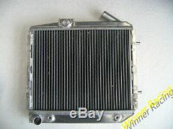 Radiateur En Aluminium Pour Renault 5 / R5 Gt Turbo A / T 1985-1991 86 87 50mm