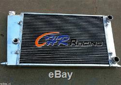 Radiateur En Aluminium Pour Vw Golf Mk1 / Caddy / Scirocco / Jetta Gti Spec 1.6 1.8 8v