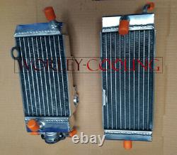 Radiateur En Aluminium Pour Yamaha Wr200 Wr200rd 1992 Alloy Fit Wr 200 92 Flambant Neuf