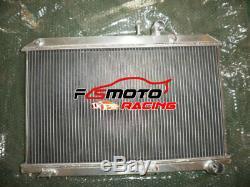 Radiateur En Aluminium + Ventilateur Pour Mazda Rx8 Rx8 Se17 Se3p 13b Msp 1.3l Coupe Mt 03-12