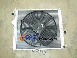 Radiateur En Aluminium + Ventilateur Pour Renault Clio 16s / Williams 1.8l / 2.0l 16v F7r 93-96 Mt