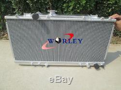 Radiateur En Aluminium + Ventilateur Pour Toyota Celica Gt4 St185 3s-gte 1989-1993 90 91 92 Mt