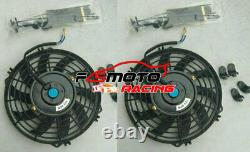 Radiateur En Aluminium & Ventilateur Pour Vw Golf Mk1 Caddy Scirocco Jetta Gti Spec 1.6 1.8 8v