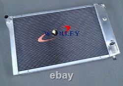 Radiateur En Aluminium + Ventilateurs Pour Chevy Corvette C3 350/305 5.7/5.0 V8 A/t 1977-1982