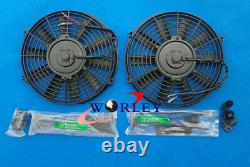 Radiateur En Aluminium + Ventilateurs Pour Mitsubishi 3000gt 3000 Gt Gto Vr4 Manuel Mt