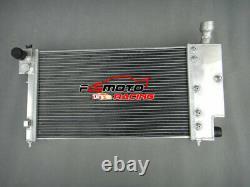 Radiateur En Aluminium + Ventilateurs Pour Peugeot 106 Gti&rallye//citroen Saxo/vtr Mt