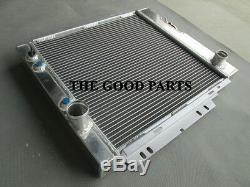 Radiateur Et Ventilateur En Aluminium Plein Pour 1964 1965 1966 Ford Mustang V8 289 302 Windsor