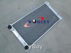 Radiateur Et Ventilateurs En Alliage D'aluminium Vw Golf Mk1 Mk2 Gti Scirocco 1,6 1,8 8v Mt