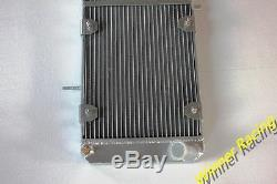 Radiateur Fit Fiat X1 / 9 Bertone X1 / 9 Lancia Scorpion & Montecarlo Tout Aluminium