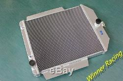 Radiateur Ford F1-f8 Camion / Pickup Withchevy L6 / V8 Moteur Swap 1948-1952 Alliage D'aluminium