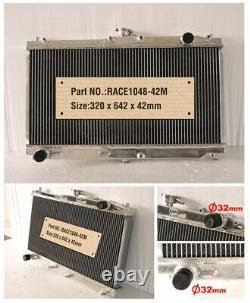 Radiateur Full Aluminium Rad Fit Mazda MX 5 Nb Mk2 Mk2.5 1.6 1.8 Mt 1998-2005