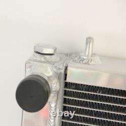 Radiateur Full Aluminum Race 42mm Fit Land Rover Discovery Defender 300 2.5 Tdi