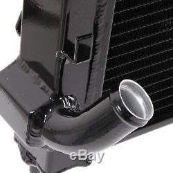 Radiateur Race Rad De 40mm En Alliage Noir Pour Bmw Mini R53 Cooper S 1.6 Supercharged