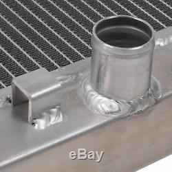 Radiateur Race Rad Pour Alliage Aluminium 35mm Pour Toyota Mr2 Roadster 1.8 16v Vti 00-05