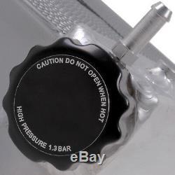 Radiateur Rad D'aluminium Twin Core Race De 55mm Pour Nissan 300zx Z32 3.0 Twin Turbo
