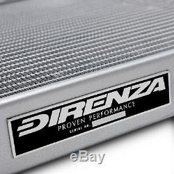 Radiateur Rad Direnza 40mm Alliage Sport Race Pour Vw Polo 86c 1.3 G40 Coupe 82-94