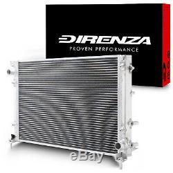 Radiateur Rad Pour Radiateur Direnza 40mm En Aluminium Double Cœur Pour Fiat 500 1.4 Abarth 08+