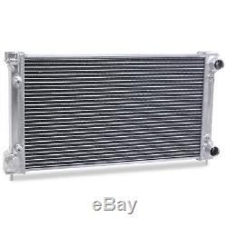 Radiateur Rad Pour Radiateur En Alliage A Haut Debit 40mm Pour Vw Golf Mk1 Mk2 Scirocco Caddy Gti