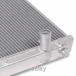 Radiateur Rad Pour Radiateur Rond En Alliage D'aluminium Double Cœur De 42mm Pour Lexus Is200 99-05 Gxe10 2.0