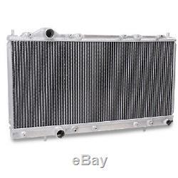 Radiateur Rad Pour Radiateur Rond En Alliage D'aluminium Twin Core 40mm Pour Mitsubishi Fto 1.8 2.0 94+