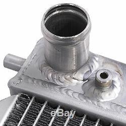 Radiateur Rad Pour Radiateur Sport 40mm Twin Core Alliage Aluminium Pour Fiat Punto Gt Turbo 1.4
